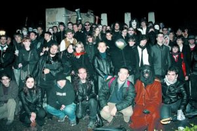 Pamplona, campo de batalla entre vampiros