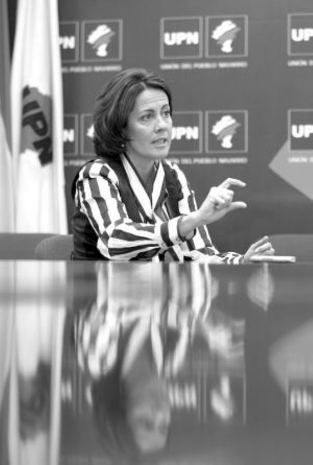 """""""Optaré a presidir UPN porque, aunque ha cambiado el escenario, creo en el partido"""""""