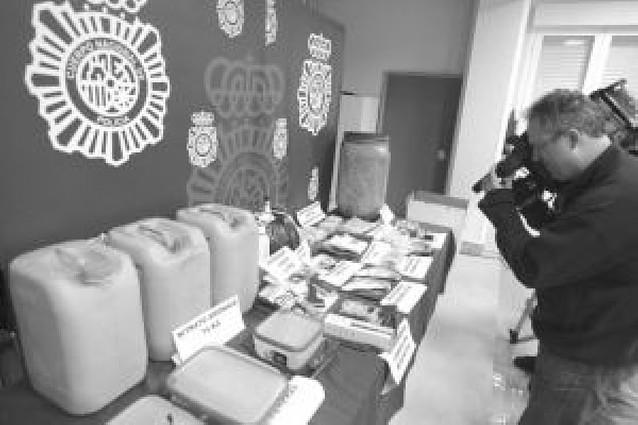 """Los cuatro presuntos miembros del """"comando Nafarroa"""" ingresan en prisión"""