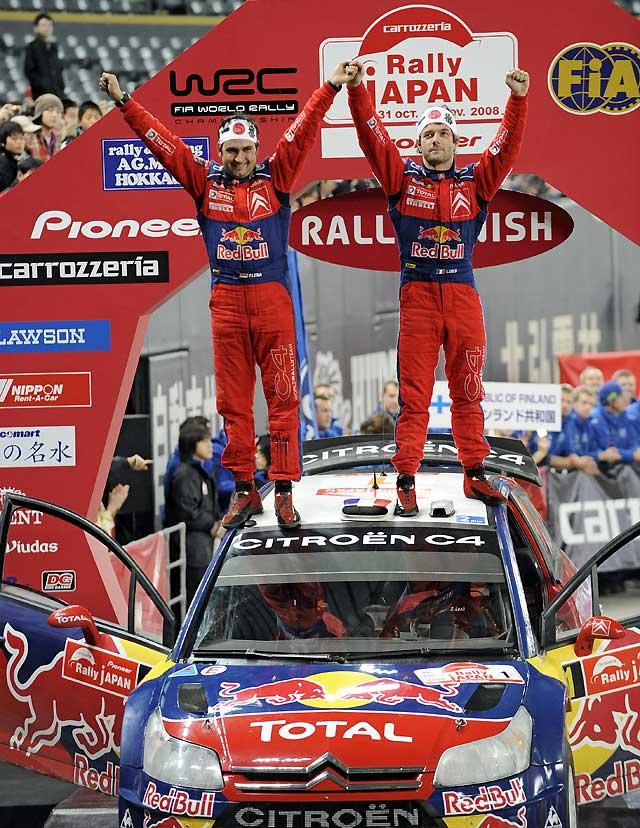 Loeb se hace con su quinto título mundial tras terminar tercero en Japón