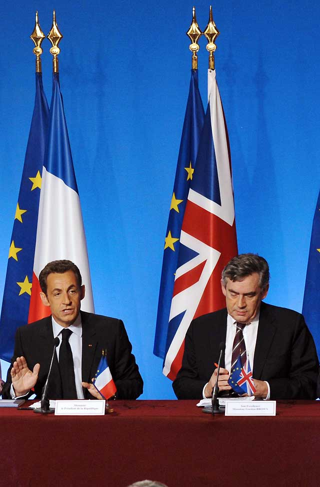 Brown y Sarkozy protagonizan su propia carrera hacia la Casa Blanca