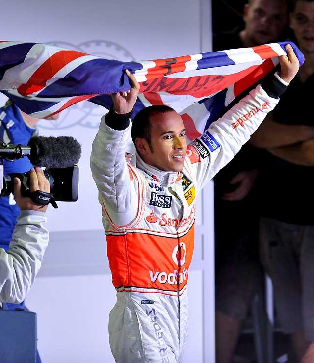 Hamilton consigue su primera corona