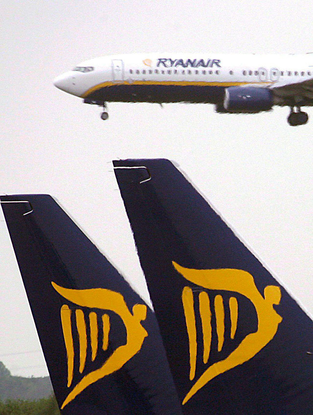 El beneficio neto de Ryanair cayó el 47% hasta septiembre