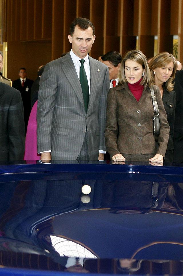 Los Príncipes inauguran la ampliación del Parque de las Ciencias de Granada