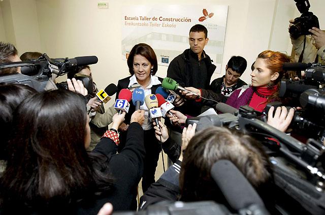 """Barcina prevé que en el futuro de UPN existan """"vínculos"""" con el PP"""