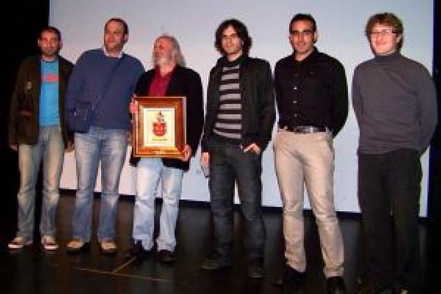 Montxo Armendáriz presidió la gala del festival de San Adrián