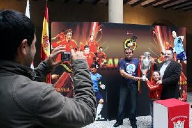 Los tudelanos levantan la Eurocopa