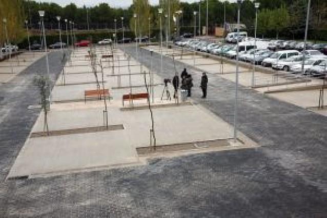 El hospital Reina Sofía de Tudela abre un nuevo aparcamiento con 112 plazas