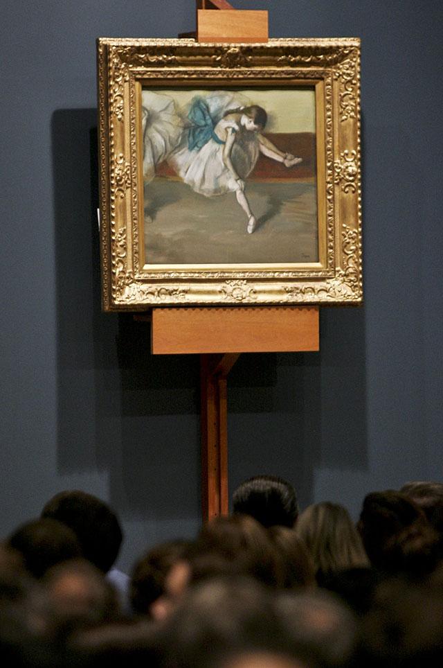 Cuadros de Malevich y Degas protagonizan primera subasta otoñal de Nueva York