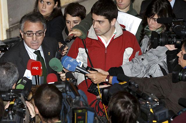 "Sanz defiende a Navarra como ""parte esencial de España"""