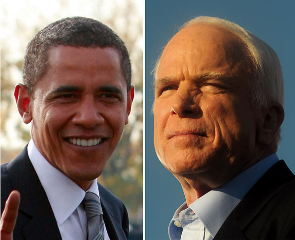 Obama y McCain apuraron hasta la madrugada para buscar el voto en las elecciones de hoy
