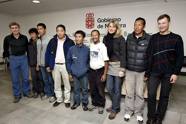 El grupo de rescate de Ochoa de Olza agradece la medalla de oro de Navarra