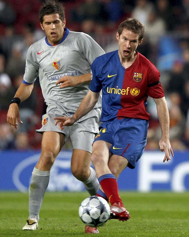 El Barcelona se estrella contra el débil Basilea (1-1)