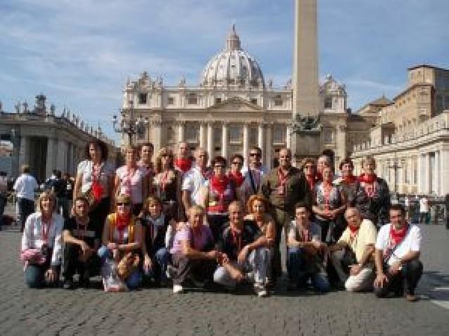 25 riberos realizan un viaje a Italia para conocer sus principales ciudades