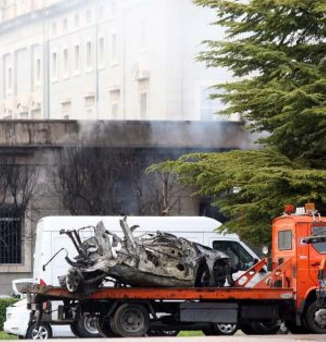 Aún no se conoce ni el explosivo ni la carga del coche bomba de la UN