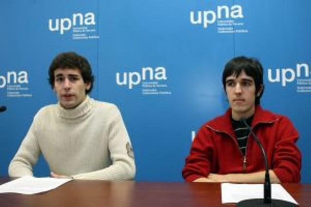 """Los alumnos de la UPNA ven """"insuficiente"""" el dinero previsto por el Gobierno para 2009"""