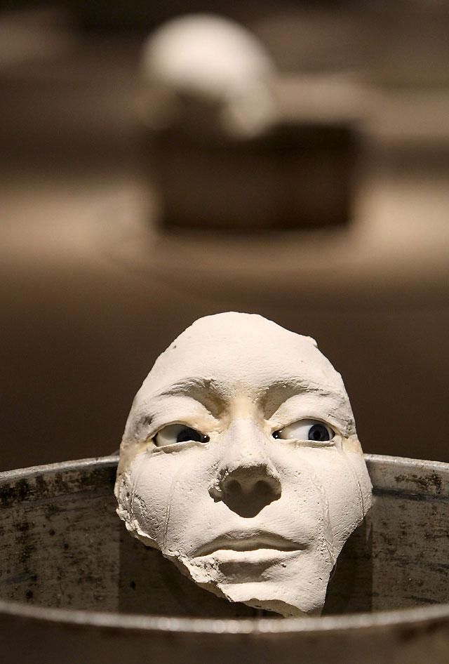 El agua como medio de expresión en la nueva exposición de la Sala Kubo en el Kursaal