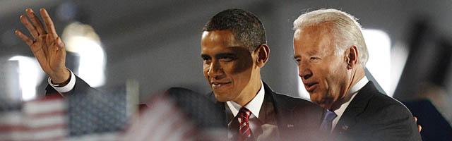 Bush telefoneó a Obama para felicitarle por su victoria