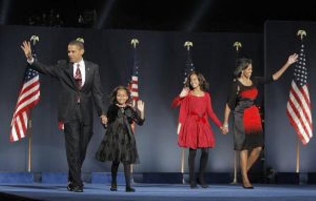 """""""Sí podemos"""": Obama vive su sueño americano"""