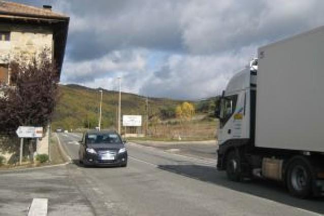 Una media de 7.600 vehículos al día dejarán de atravesar Ostiz en un mes