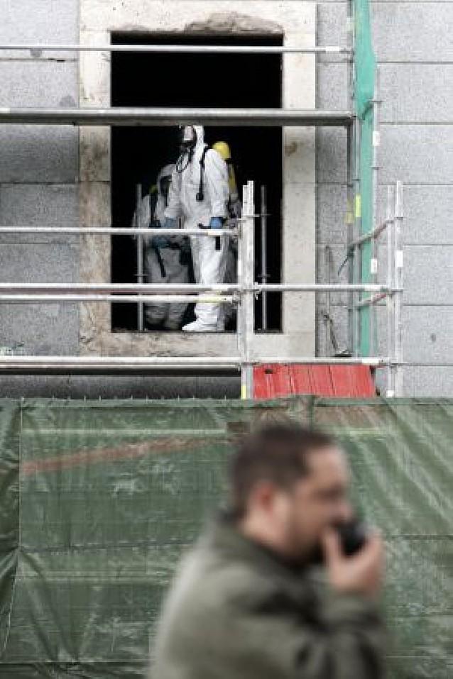 El gas acumulado en el falso techo tras la bomba pudo intoxicar a 253 personas