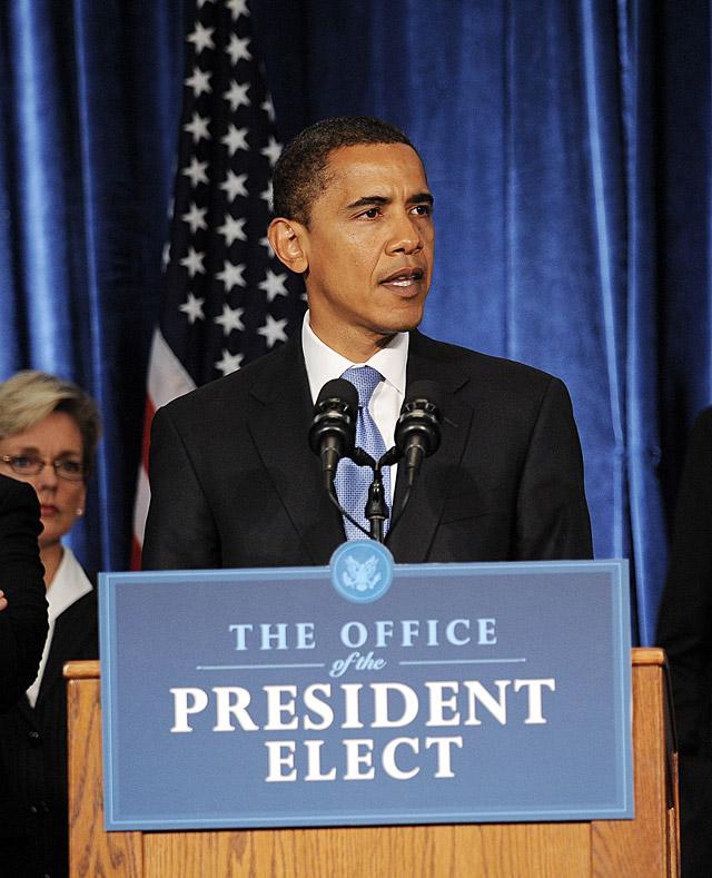 """Obama promete tomar """"todos los pasos necesarios"""" contra la crisis"""