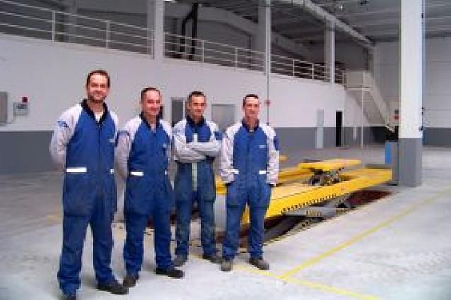 Talleres Autoclave de Lodosa inicia el traslado al polígono de Los Cabezos