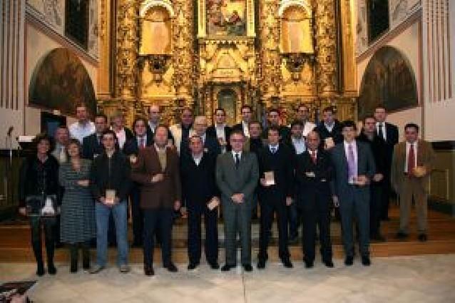 El rejoneador Hermoso de Mendoza recibe en Corella el Tonel de Oro 2008