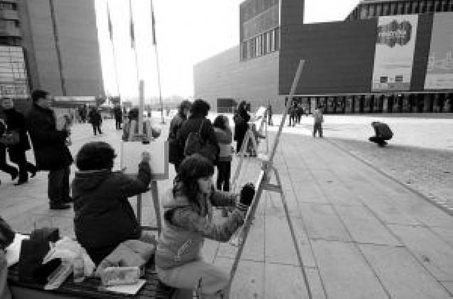 """El concurso """"Dibuja Pamplona"""" contó con 77 alumnos"""