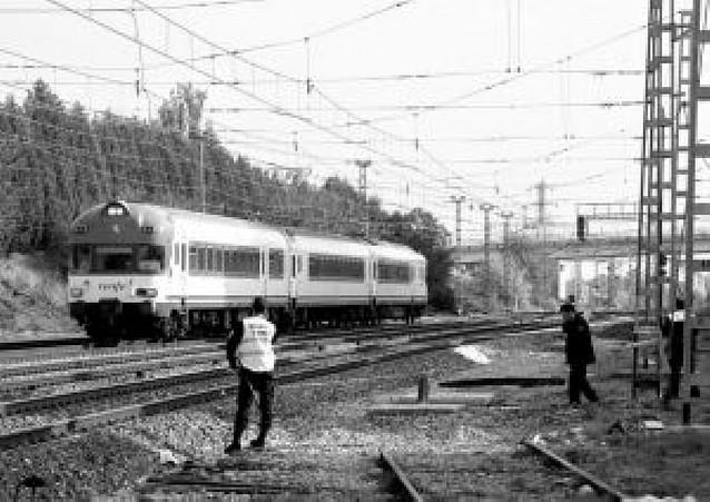Fallece un joven tras ser arrollado por un tren en Tudela