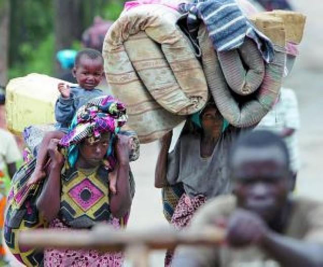 Más de un millón de desplazados ante el recrudecimiento de los combates en el Congo