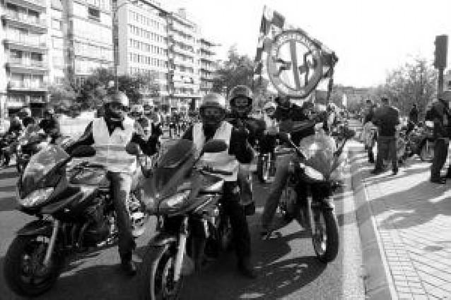 Diez mil motoristas piden en Madrid más medidas de seguridad