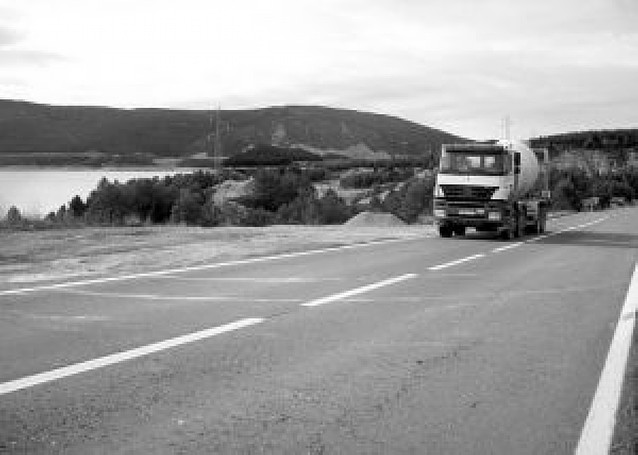 La mitad de los 106 km de la Autovía de Pamplona a Jaca está todavía en trámites