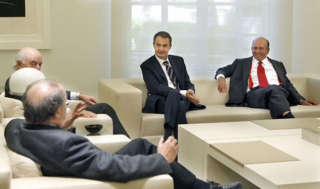 La Banca española pide a Zapatero que defienda el control del sistema financiero mundial