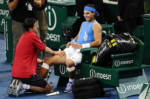Nadal no disputará la final de la Copa Davis