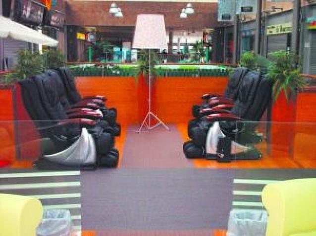 Nueva zona de relax en el Centro Comercial Itaroa
