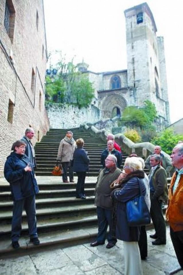El programa de visitas guiadas ha mostrado Estella a 8.500 turistas