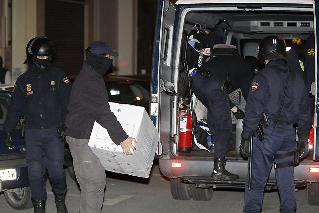 Tres detenidos en Pamplona por su vinculación con la violencia callejera