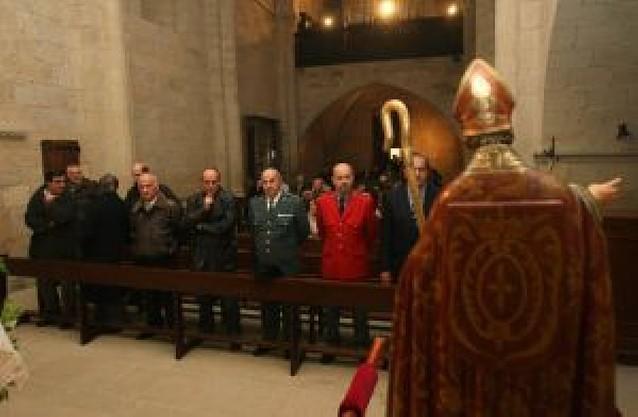 San Martín de Unx celebró su patrón con la procesión y una eucaristía