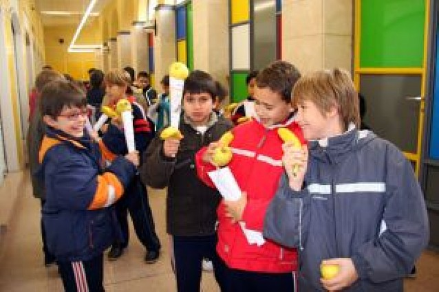 El mercado, abierto a los escolares