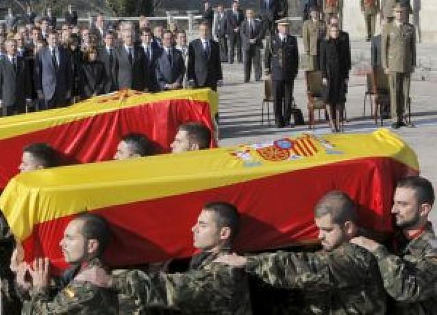 """""""Fueron dos soldados valientes que dieron la vida por la paz"""""""
