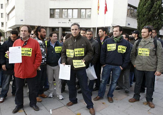 El juez interrogó en Madrid a los tres mecánicos imputados por la tragedia de Barajas
