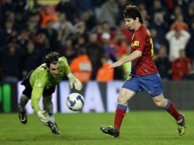 El Barça no estuvo cómodo