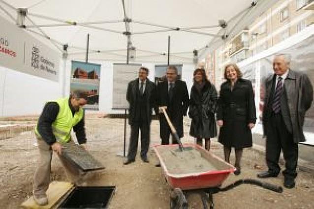 Sanz anuncia que las obras del centro de salud de Ansoáin terminarán en un año