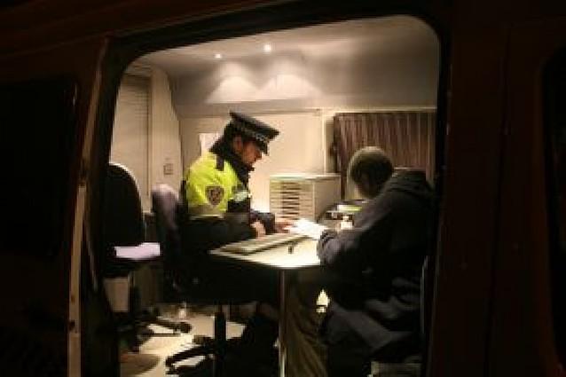 El primer año de la Ley del Tráfico se salda con 600 detenidos en Pamplona