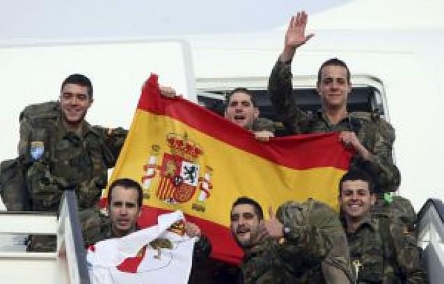 Parten 124 soldados de relevo para las tropas en Afganistán