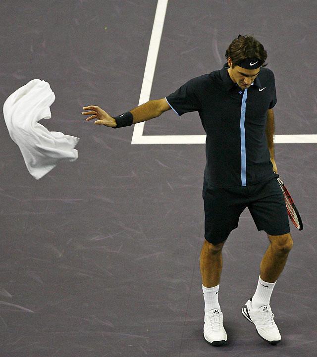 Gilles Simon se mete en las semifinales de la Copa Masters tras la derrota de Federer
