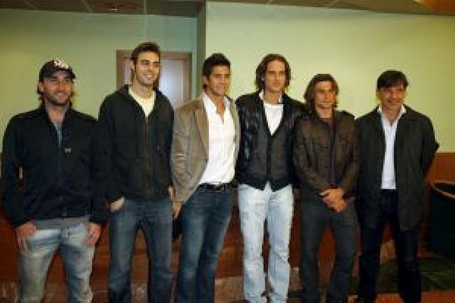 El equipo llega a Argentina