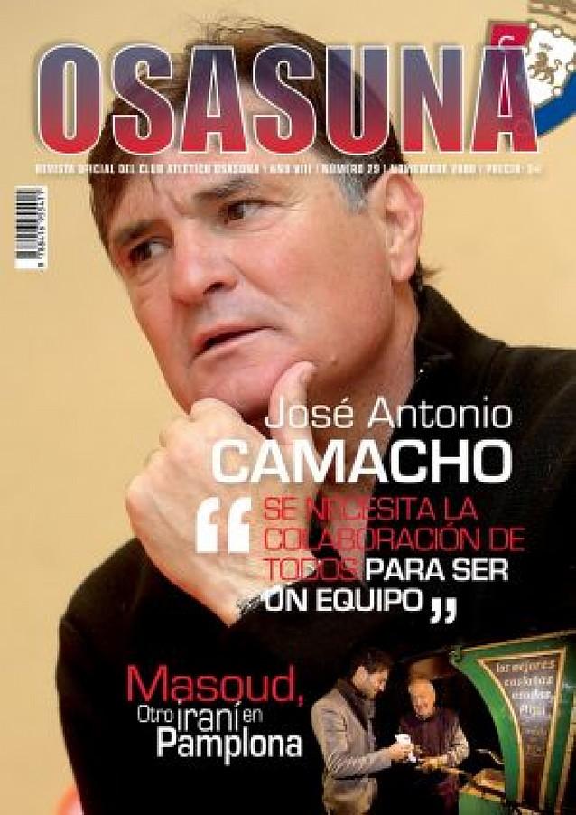 Sale el número 29 de la revista oficial de Osasuna