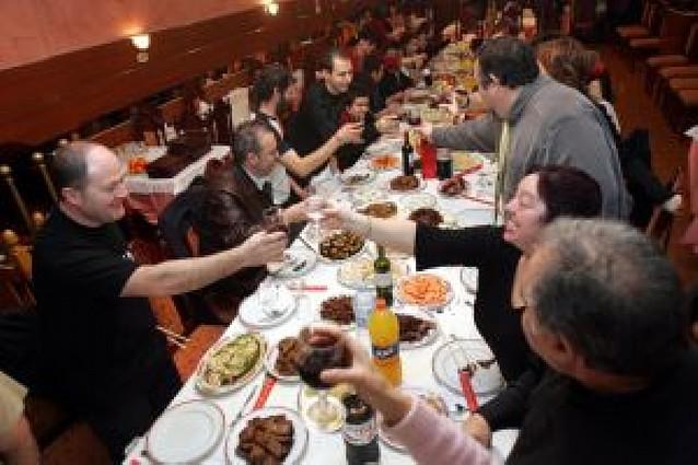 Los restaurantes de Tudela empiezan a llenarse para las cenas de empresa